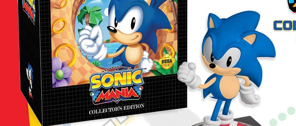Sonic Mania Genesis-themed collector's edition release made official