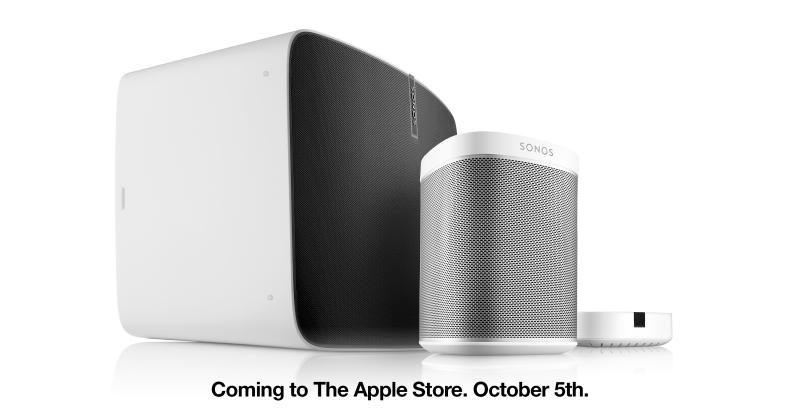 Sonos PLAY:1, PLAY:5 comes to Apple.com, Apple Stores on Oct. 5