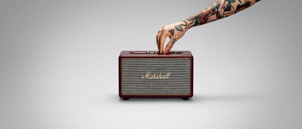 Marshall Acton Oxblood Limited Edition speaker boasts classic vinyl design