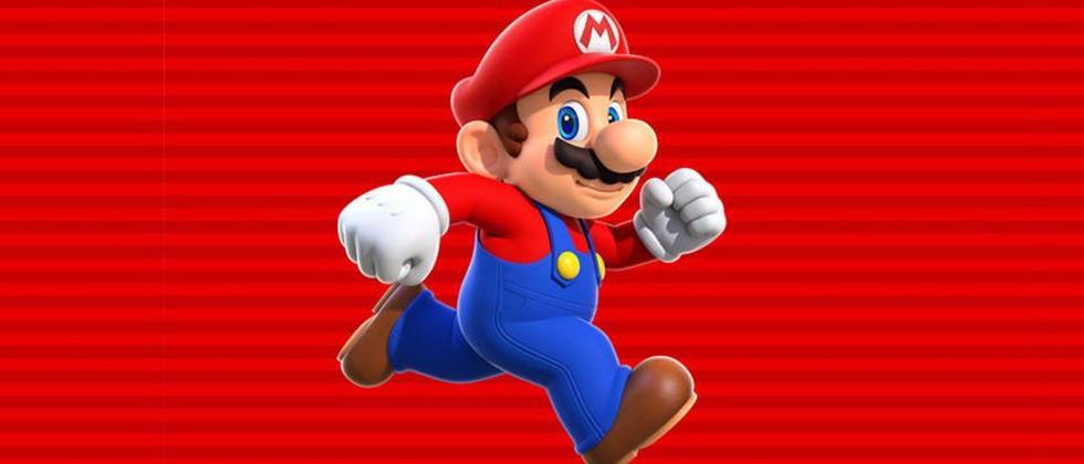 Super Mario Run release level demoed by Shigeru Miyamoto