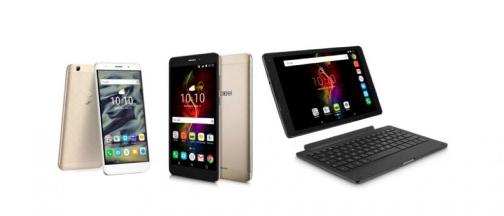 Alcatel POP 4 tablets debut alongside XL phone at IFA