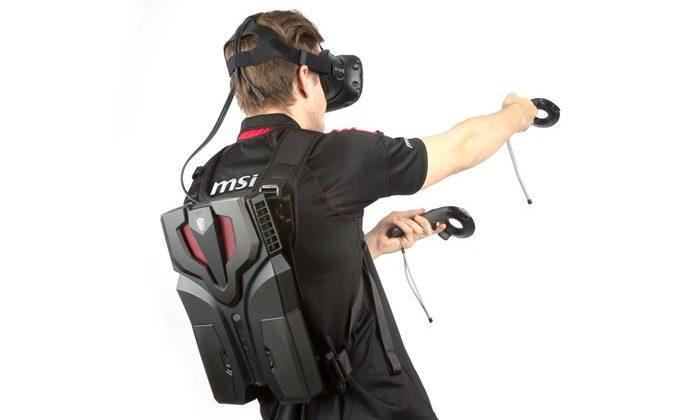 MSI VR One pre-empts Intel's Project Alloy with PC backpack