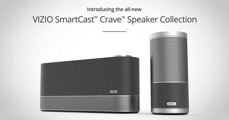 VIZIO SmartCast Crave speakers venture into Sonos territory