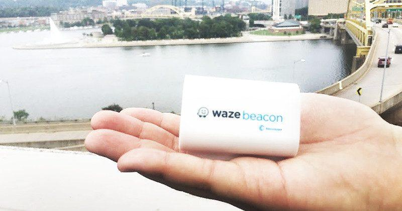 Waze Beacons to make navigation work even in tunnels