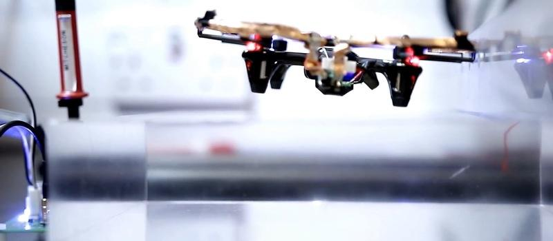 This drone flies indefinitely using wireless power instead of battery