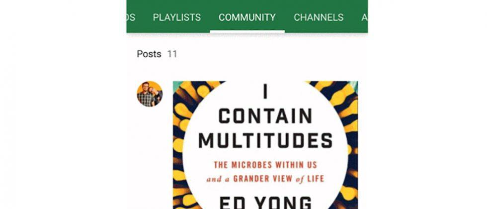 YouTube Community lets content makers interact with fans in new ways