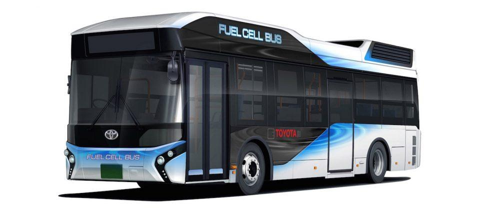 Toyota reveals fuel cell bus for 2017, can serve as emergency generator