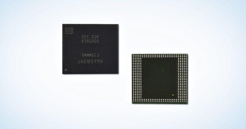 Samsung's 8 GB LPDDR4 DRAM chips are ready to invade mobile