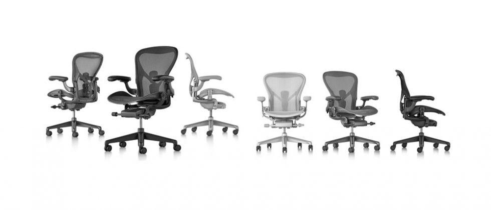 Herman Miller's new Aeron desk chair is the update of a classic