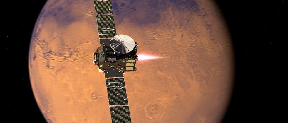 ExoMars TGO enters orbit around Mars, lander status currently unknown