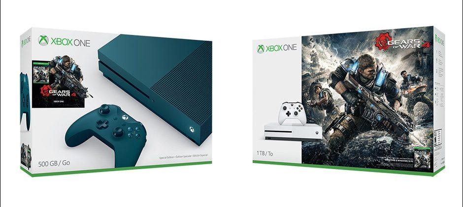 Microsoft announces two more Xbox One S Gears of War 4 bundles