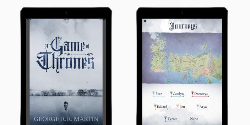 'Game of Thrones' novels get iBooks-exclusive enhanced editions