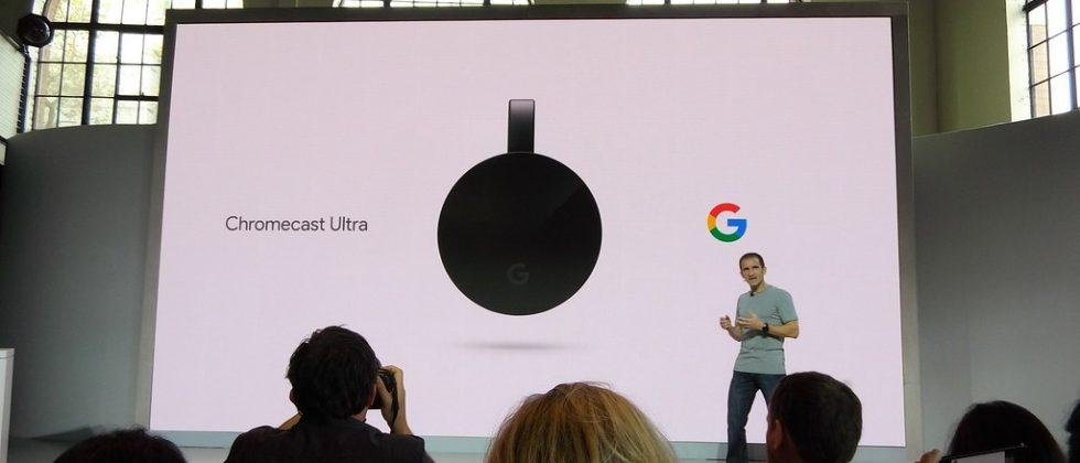 Chromecast Ultra officially revealed for November launch