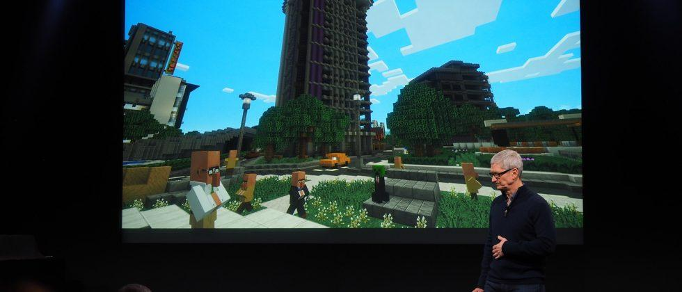 Minecraft for Apple TV releases this year