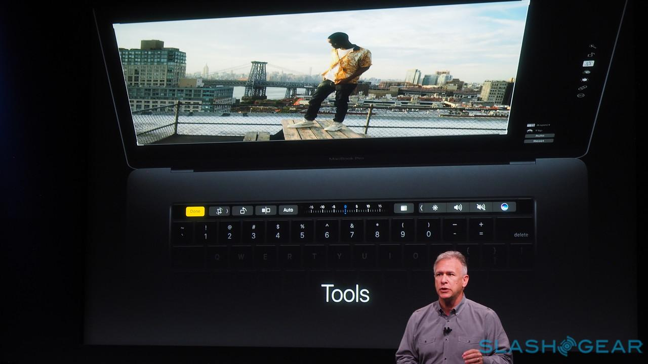 Apple Touch Bar detailed