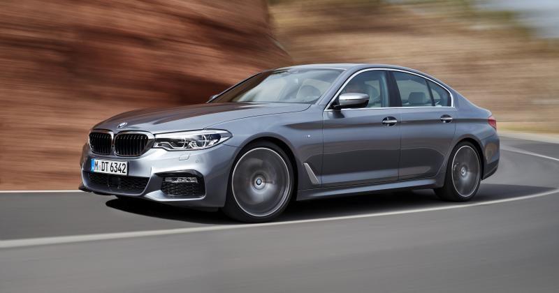 2017 BMW 5 Series displays the evolution of the iconic sedan