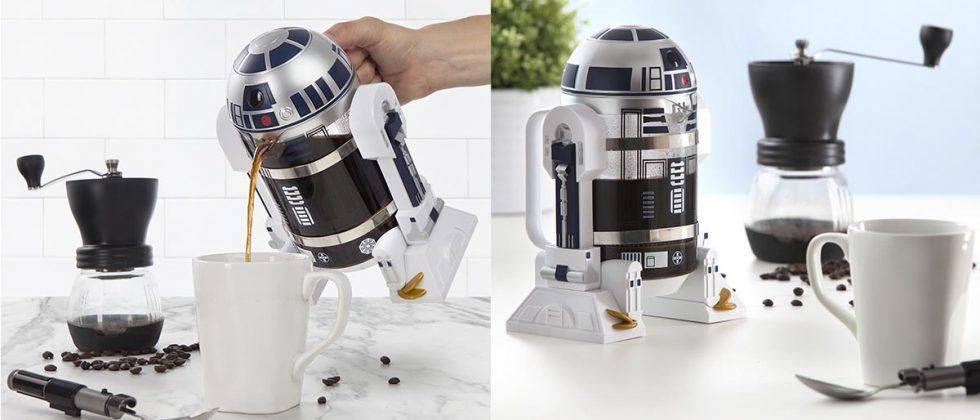 Star Wars R2-D2 coffee press is the preorder your morning needs