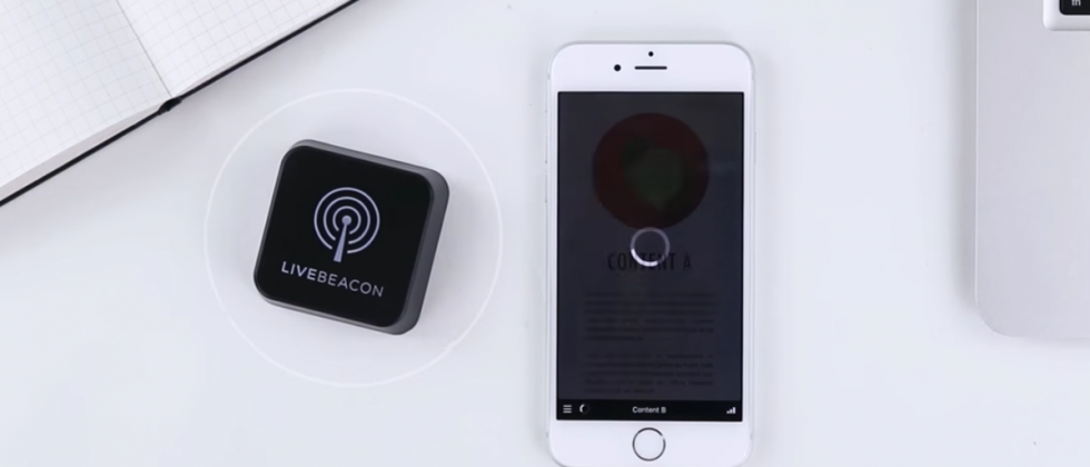 Live Beacon aims to be the simplest iBeacon device
