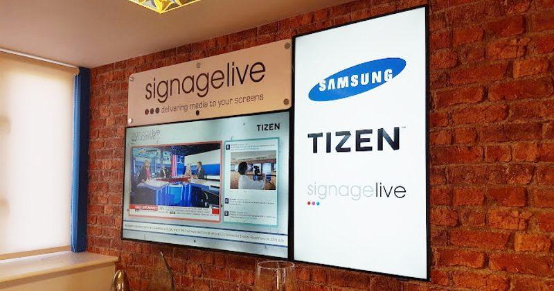 Samsung slaps Tizen on standalone, premium signage displays