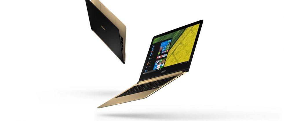 Acer's Swift 7 notebook is thinner than yours