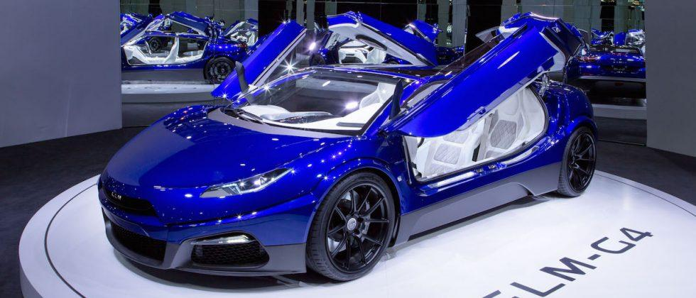 GLM G4 is Japan's Tesla-rivaling EV sports car