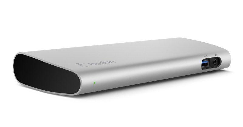 Belkin Thunderbolt 3 Dock adds more ports to MacBook Pro
