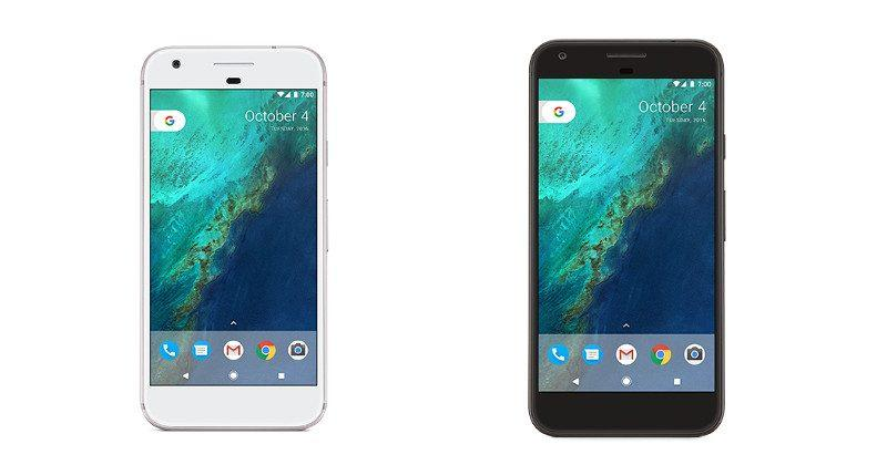 Google Pixel images leaked by Bell Canada