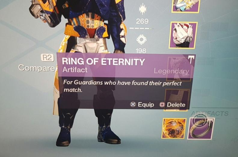 Destiny player proposes in-game with help from Bungie