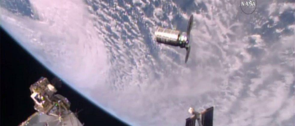 Cygnus Cargo spacecraft successfully docks with ISS