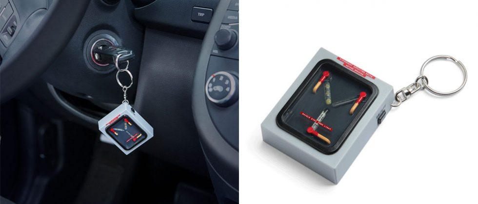 Flux Capacitor Keychain Does Nothing At 88mph Slashgear