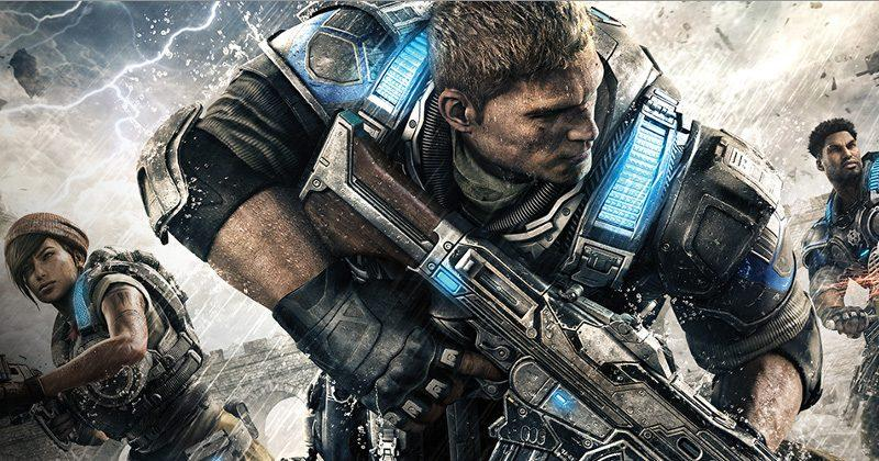 Gears of War 4 is now out on Xbox One, Windows 10