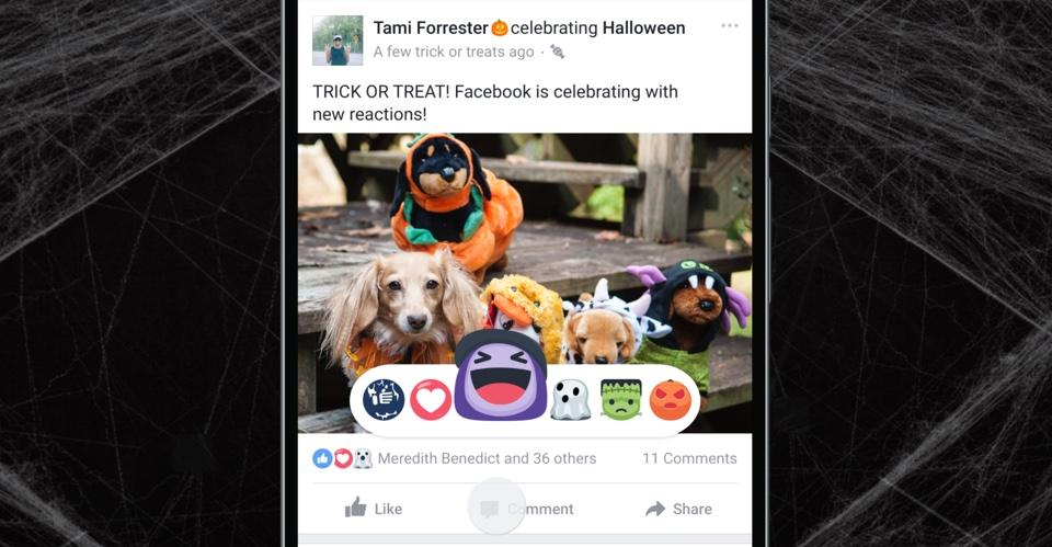 Get spooky on Facebook Live with Halloween-themed filters
