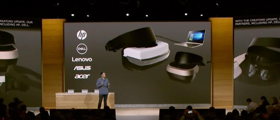 Microsoft VR comes with $300 headsets from Lenovo, ASUS, Acer