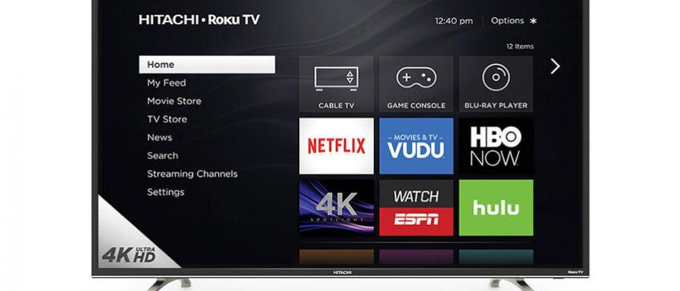4K Ultra HD Hitachi Roku TVs ship this week