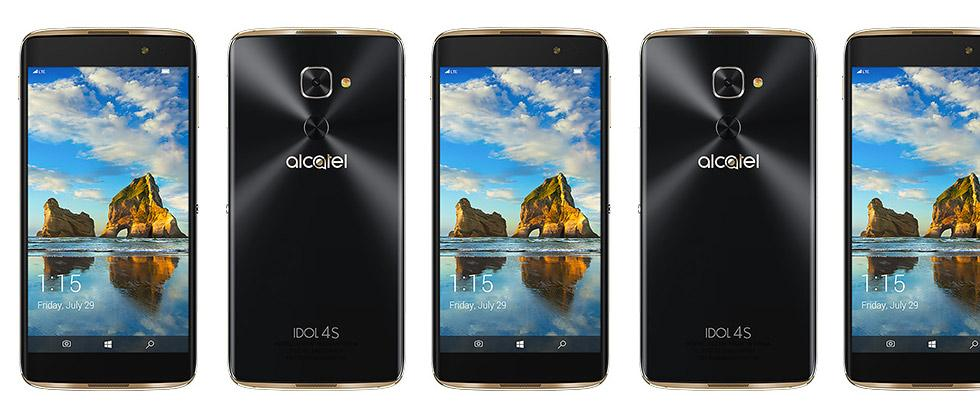 Alcatel IDOL 4S launches on T-Mobile with Windows 10 VR