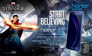 Honor and Marvel Studios team for Doctor Strange limited-edition Honor 8 smartphones