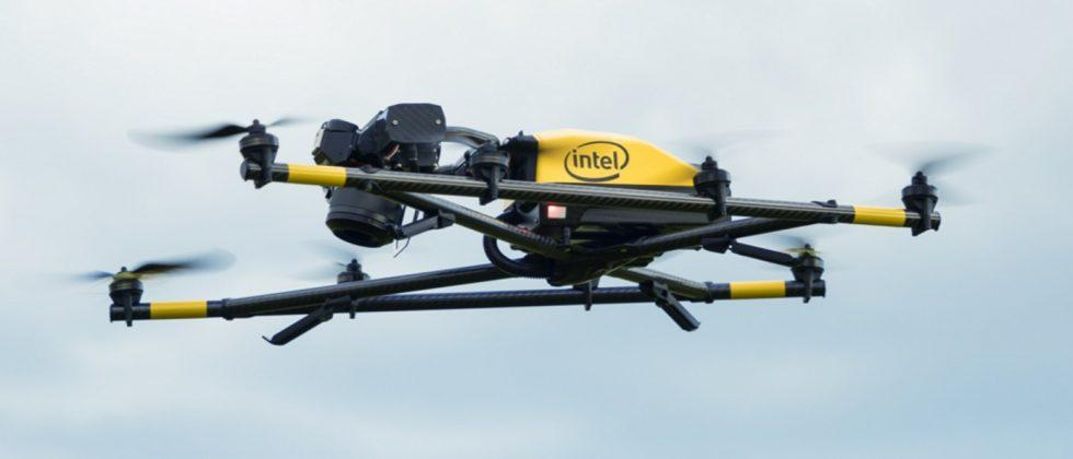 Intel Falcon 8+ drone system takes aim at commercial applications