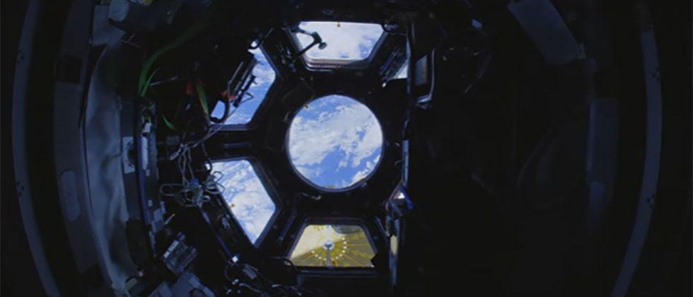 ISS fly-through video shot with 4K fisheye lens is almost like being there