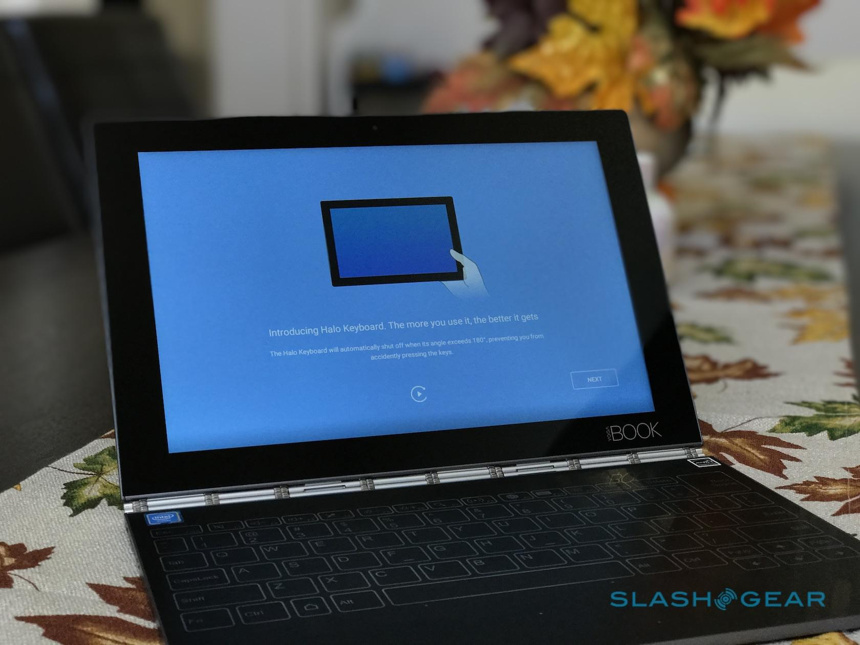 Lenovo Yoga Book Review Gallery Slashgear