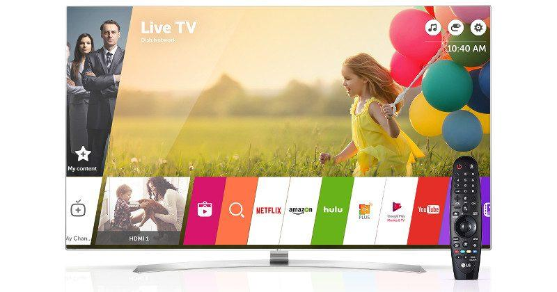 LG webOS Smart TVs gain online payment support