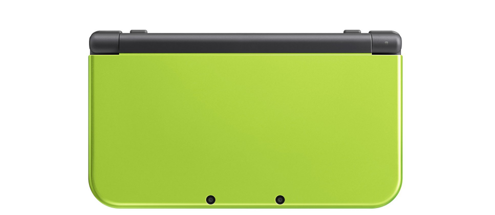 Nintendo's lime green New 3DS XL comes packed with a classic game