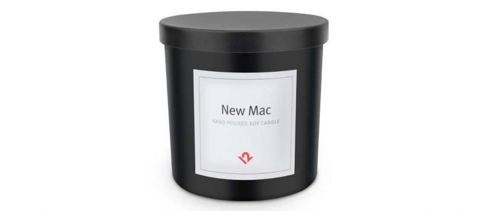 'New Mac' scented candle is a strange way to showcase your Apple love