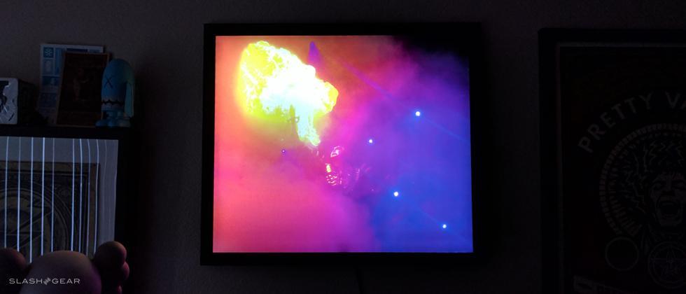 NewLight backlit wall portrait Review