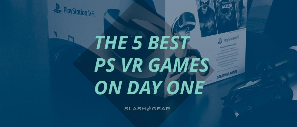 The 5 best PlayStation VR games to buy on day one