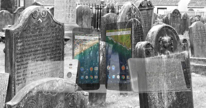 The Nexus is no more, departs from Google Store