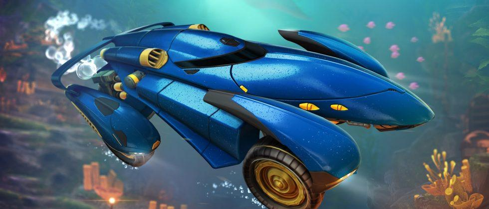 Rocket League's AquaDome DLC launches today with two new cars