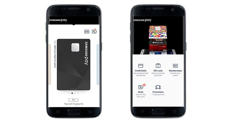 Samsung Pay adds online shopping, in-app payments