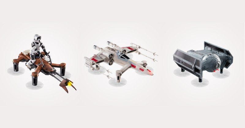 Small Star Wars drones are big in speed and price