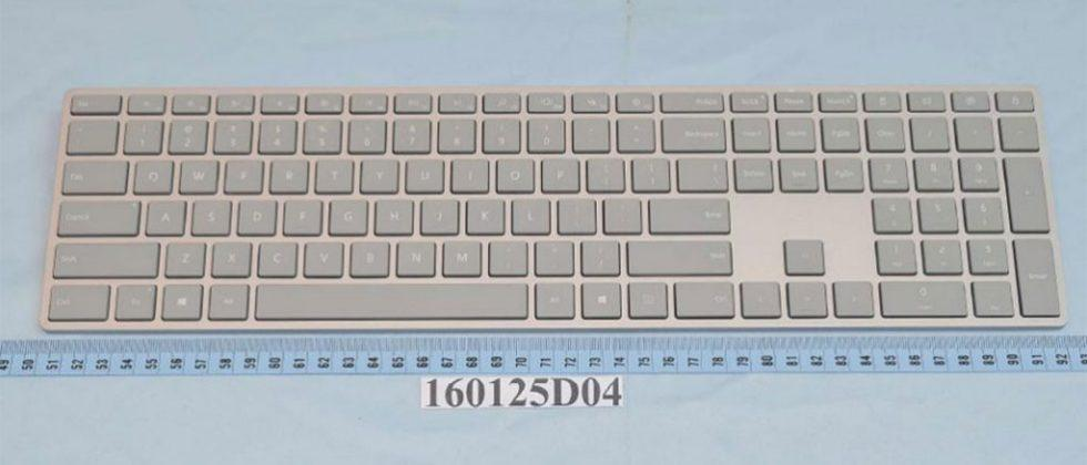 Microsoft Surface keyboard and mouse turn up at FCC