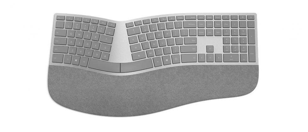 Microsoft Surface Ergonomic Keyboard is for serious typists